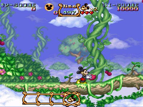 emuparadise europe magical quest starring mickey mouse the europe rom