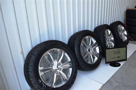 ford f150 platinum 20 inch oem factory wheels and hankook