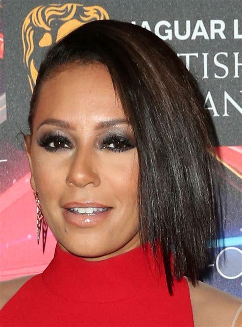 mel b hairstyles melanie brown short straight cut melanie brown hair