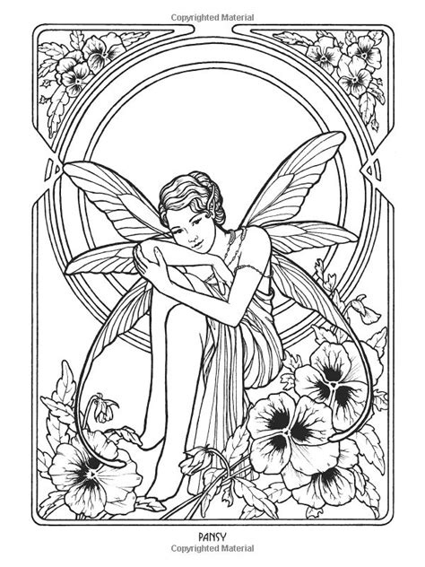 forest elf coloring pages 1177 best images about fairies to color on pinterest