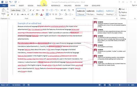 Suivi De Modification Word Mac by Guide Traiter Les Modifications Du Correcteur