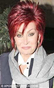back view of sharon osbourne haircut sharon stone hairstyle on the talk show long hairstyles