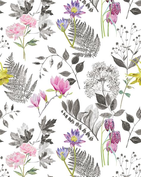 pattern and fabric layout designers guild mokuren fabric print featuring