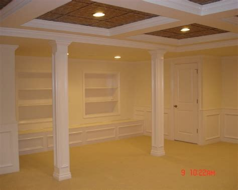 Low Ceiling Basement Remodeling Ideas Traditional Basement Low Ceiling Basements Design Pictures Remodel Decor And Ideas Page 6