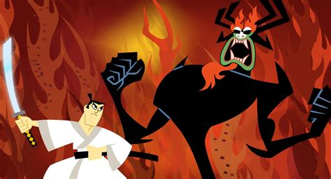 Blind Guardian Live Samurai Jack Image Reveals A Darker Take On The Hero