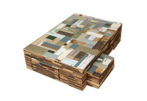 Rectangular Wood Coffee Table Waste Coffee Cube By Piet Hein Eek Stylepark