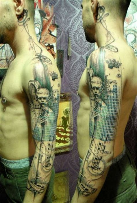 tattoo on body photoshop phenomenally artistic photoshop style tattoos 29 pics