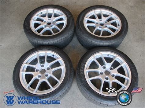 porsche cayman boxster factory  wheels tires oem  socal wheels factory