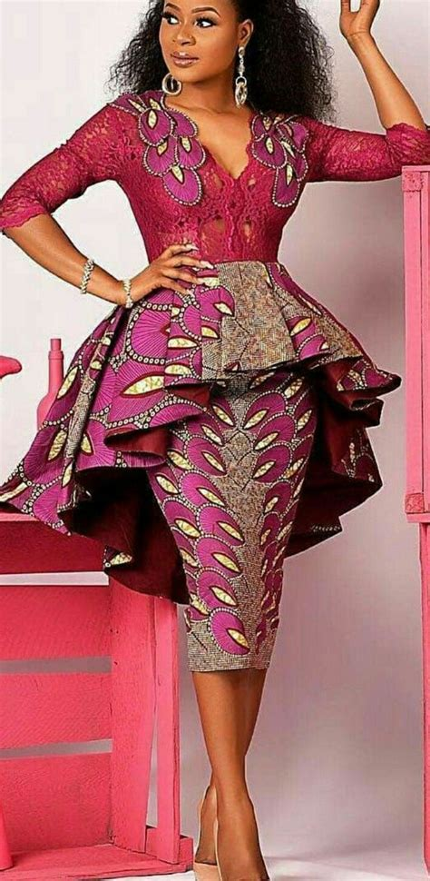 ankara dress african fashion in 2019 couture africaine