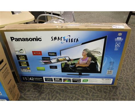 Tv Panasonic Smart Viera 42 panasonic smart viera 42 quot led lcd tv able auctions