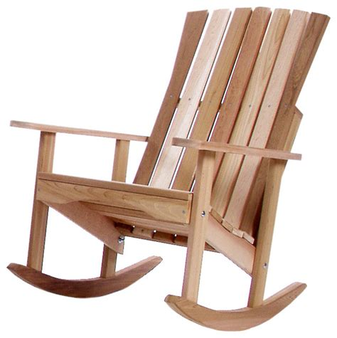 Rocking Chairs For Porch by Cedar Porch Rocking Chair Traditional Outdoor Rocking Chairs By All Things Cedar Inc