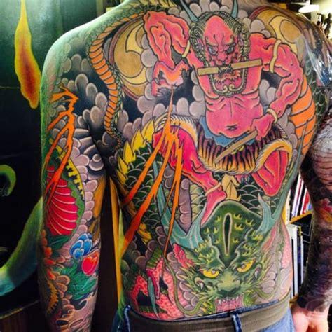 oriental god tattoo 12 thunderous raijin tattoos tattoodo