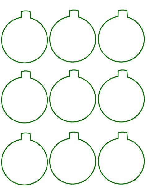 Tree Balls Outline by Proper Hunt Diy Monogrammed Gift Tags