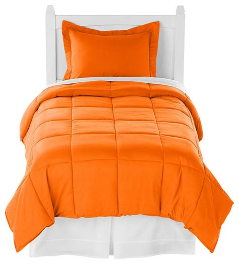 orange twin comforter set orange twin xl comforter set by ivy union traditional