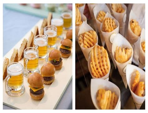 upcoming wedding food trends for 2014