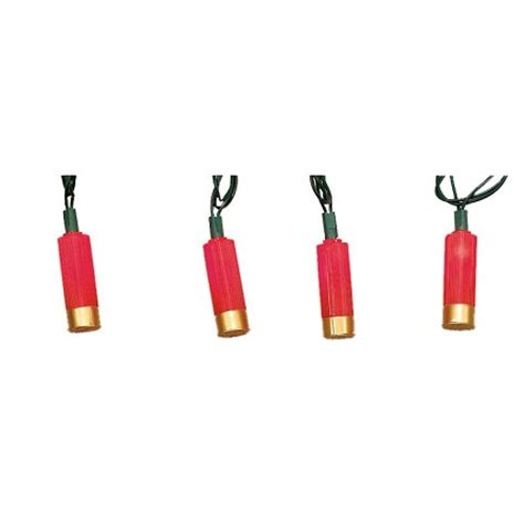 shell string lights shotgun shell electric string lights country western
