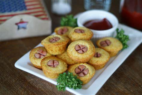 rezepte für kuchen schnell mini corn dogs aus der muffinsform usa kulinarisch