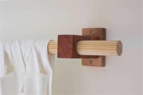 curtain rod holders ideas  pinterest