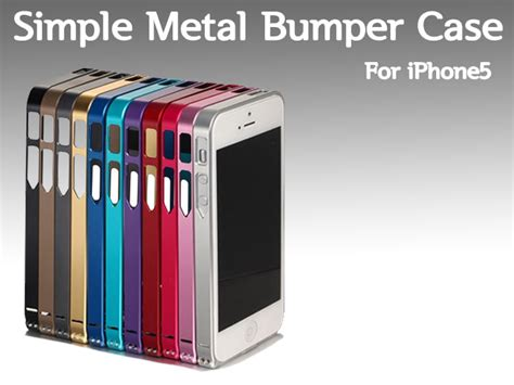 Bumper Crossline Iphone 5 5s apple iphone 5c 5s look alike wanna be bumper