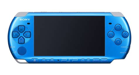 playstation portable console psp 3000 playstation portable console vibrant blue the