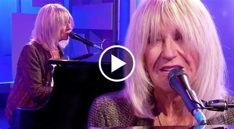 christine mcvie plays  breathtaking performance  songbird  bbc