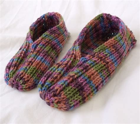 knitted slipper pattern knitted slipper patterns a knitting