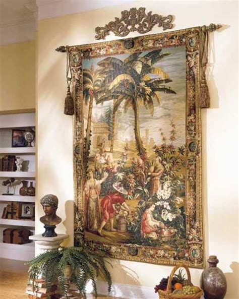 Hanging Wall Decorations Interior by Modern Interior Decorating With Tapestry Wall Hangings