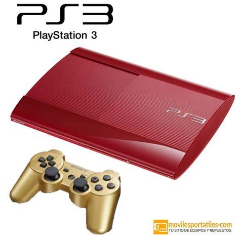 consola playstation 3 consola ps3 playstation 3 superslim 4204a 12 gb rojo