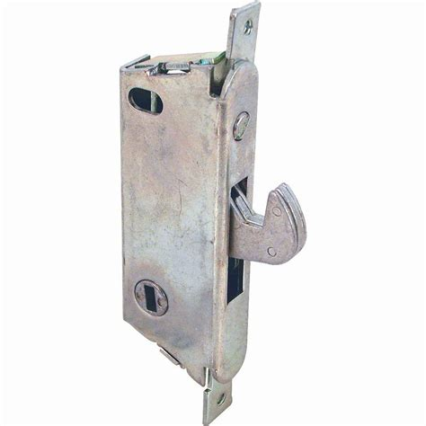 Sliding Glass Door Latches Prime Line Sliding Glass Door Mortise Latch E 2009 The Home Depot
