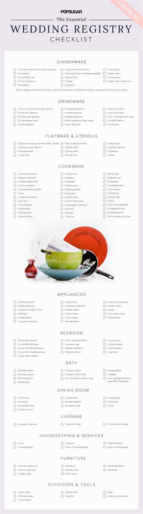 Wedding Registry Tools by 26 Best Wedding Registry Checklists Images On