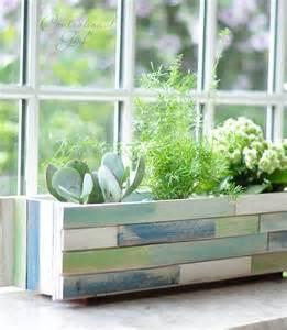 indoor window planter wood shim window box planter centsational girl