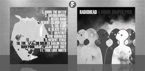 Cd Radiohead A Moon Shaped Pool radiohead a moon shaped pool box cover by