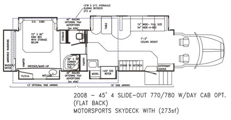 bus floor plans custom motor coaches by powerhouse coach