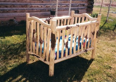 Log Cribs For Babies by Best 25 Log Crib Ideas On Country Baby