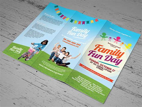 18 cool brochure templates for special events design