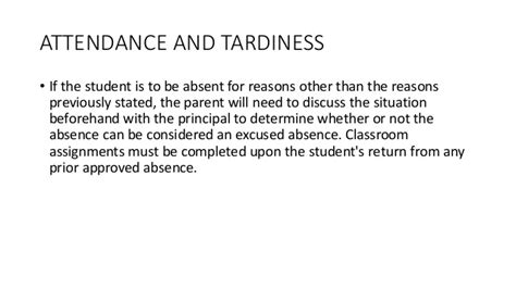 Unexcused Absence Letter Sle Maryville Junior High School Student Handbook 2014 2015 Updated