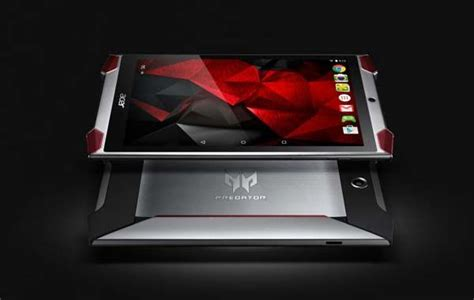 acer predator 8 gaming tablet with atom x7 z8700 and acer predator 8 gaming tablet brings you more immersed