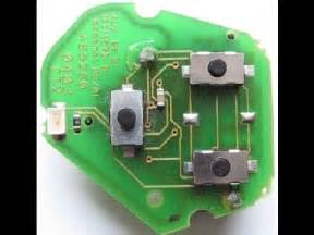 i need a new key for my car car key fob microswitch solder button repair fix change