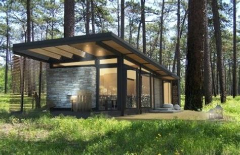 Affordable Prefab Cabins by Karoleena Prefab Cabins Grassrootsmodern