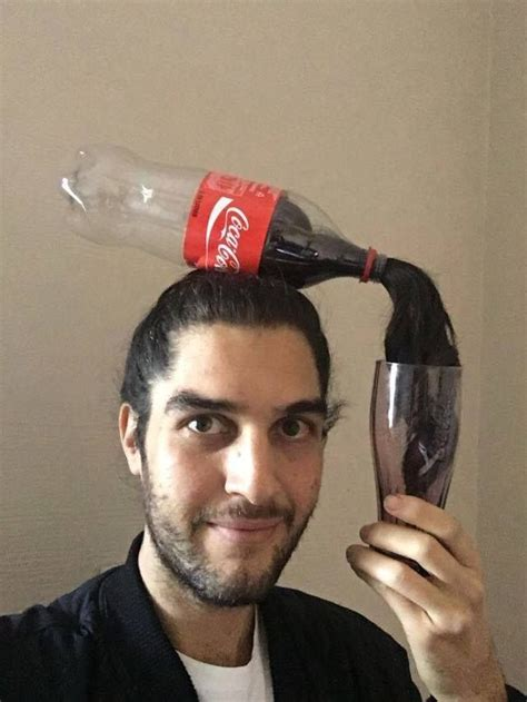coke rinse hair coca cola in hair when they ask what you do for a living