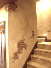 Brick painting on pinterest faux brick faux brick walls and plaster