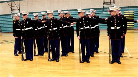marine color guard marine corps jrotc color guard drill team competition