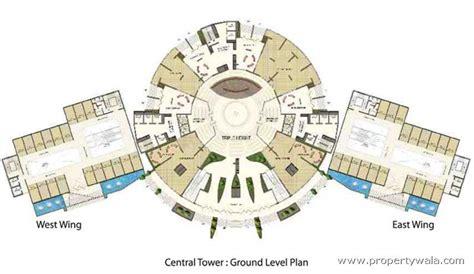 Parc Imperial Floor Plan supertech north eye sector 74 noida residential