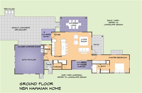 hawaii house plans house design - Hawaii House Plans