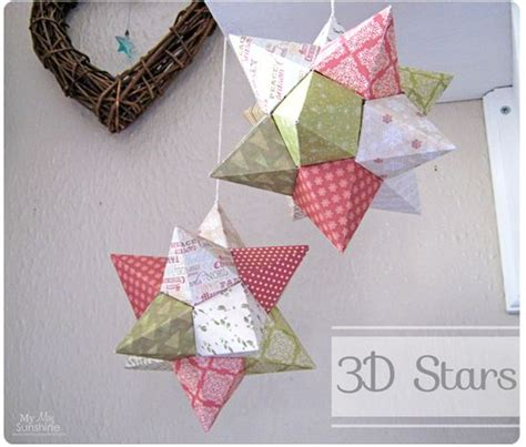 how to make 3d star and balls best 25 3d ideas on