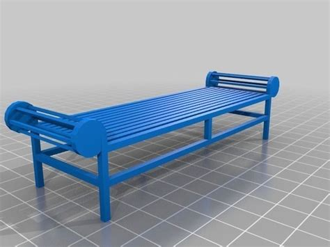lutchens bench lutyens bench free 3d model 3d printable stl cgtrader com