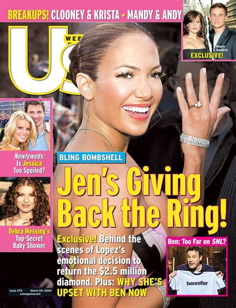 Us Weekly Goes Bald On This Weeks Cover by March 29 2004 S Us Weekly Covers Us Weekly