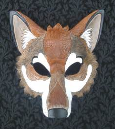 Wolf Mask Red Wolf Mask By Merimask On Deviantart