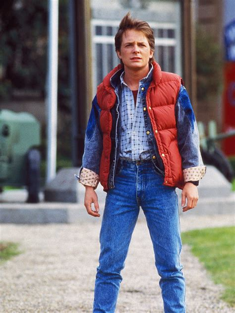 michael j fox marty mcfly cosmic query what color is marty mcfly s vest ncpr news