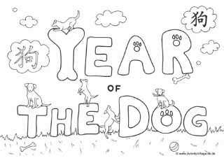 coloring pages year of the dog what s on 4 little ones celebrate the chinese new year